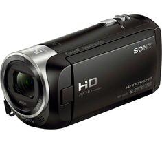 SONY Handycam HDR-CX405 Full HD Camcorder - Black