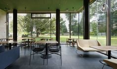 Holburne Garden Café 2012 _ Restaurant & Bar Design Awards @ London / 2011 by Softroom Architects