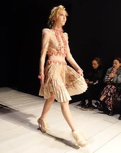 McQueen's homecoming at London Fashion Week.