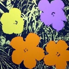 Flowers 11.67, Screenprint by Andy Warhol