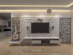 by design arch – salon – Welcome Tv Unit Lcd Panel Design, Tv Wall Design, Wall Unit Designs, Tv Room Design, Ceiling Design Living Room, Living Room Design Modern, Living Room Tv Unit Designs, Wall Design, Wall Tv Unit Design