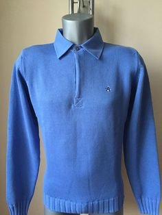 Armor Lux Men's Sweater Herren Pullover New Blue Shirt Blouse Size: S #ArmorLux #Jumpers