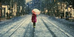 Snow Cityscapes Turkey