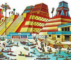 aztecs life | Sinners weeping, Florentine Codex