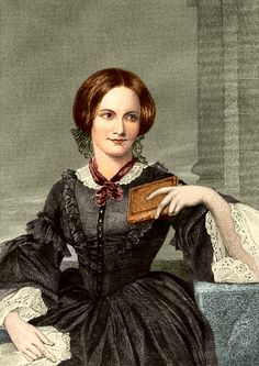 Charlotte Bronte, posthumous image.  Painted by Evert A. Duyckinck, based on a drawing by George Richmond, 1873.  University of Texas.