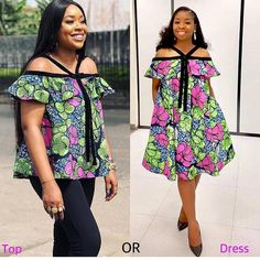 Fabulous Ankara Styles Of 2019 Fabulous Ankara Styles Of one thing to wear ankara fashion styles to your wedding or regular hangouts, it's another thing entirely to appear beautiful in those ankara styles. If any ankara st Short African Dresses, African Blouses, African Print Dresses, African Fashion Ankara, Latest African Fashion Dresses, African Print Fashion, Africa Fashion, African Attire, African Wear