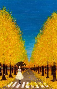 Tashika Yui - Autumn Yellow