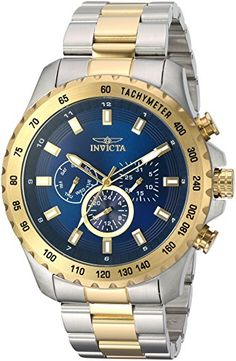 Invicta Mens Speedway Quartz Stainless Steel Casual Watch ColorTwo Tone Model 24214 * See this great product. This Amazon pins is an affiliate link to Amazon.