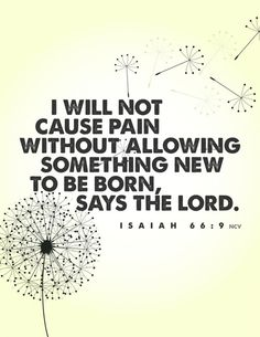 No such thing as purposeless pain with Him.