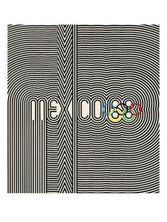 Mexico 1968 Olympics. THIS POSTER WAS IN MY BEDROOM, TOO!