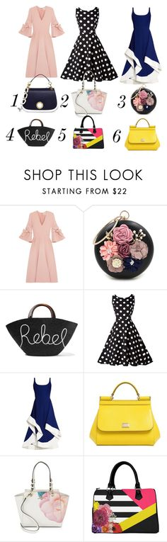 """""""your choice"""" by marbau ❤ liked on Polyvore featuring Roksanda, WithChic, Eugenia Kim, Esteban Cortazar, Dolce&Gabbana, Karl Lagerfeld and Michael Kors"""