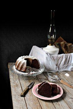 Bizcocho de chocolate y remolacha :: Čokoládová bábovka s červenou řepou