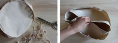 DIY.. How to make a cotton canvas storage bin | Haberdashery Fun