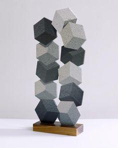 Stone Cubes Sculpture