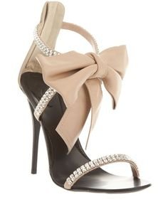 GIUSEPPE ZANOTTI DESIGN Embellished sandal $460.00  - a girl can wish - possibly sexiest classy shoes ever    Ashley Lawrence via Kristi Michelle onto Style and Such