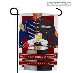 Garden Flag: Marine Corps Birthday