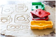 For the photographer who loves to bake and take pictures.  Or also great if you want to bake goodies with these cut camera cut outs and give them to your favorite photographer.    Available here: http://photojojo.com/store/awesomeness/camera-cookie-cutters/mcpactions
