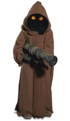 Jawas were typically short rodent-like natives of Tatooine. They were passionate scavengers, seeking out technology for sale or trade in the deep deserts in their huge sandcrawler transports. A band of Jawas was responsible for locating C-3PO and R2-D2 and selling them to Luke Skywalker's uncle, Owen Lars.