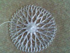 güzel İğne Aparatıyla Motif Yapımı Tenerife, Needle Lace, Bobbin Lace, Circular Loom, Bamboo Weaving, Loom Knitting Patterns, Lace Doilies, Lace Making, Loom Weaving