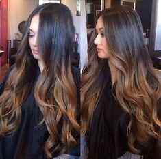 6A Glueless Brazilian Human Hair Wig Wavy Long Full Lace/Lace Front Wigs #1B/30