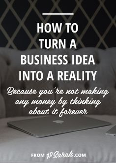 """Any time my friends say, """"OMG have this really great idea!"""" and spend 10 minutes excitedly explaining their new business/website/book, I always (as long as it's actually a great i…"""