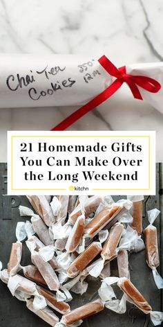 Diy Gifts Cheap, Easy Homemade Gifts, Diy Food Gifts, Diy Gifts For Mom, Edible Gifts, Aunt Gifts, Homemade Gifts For Friends, Friend Gift Diy, Ideas For Gifts