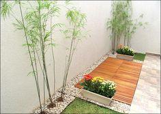 Jardim para pequenos espaços