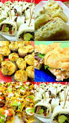 Here's a easy and tasty collection of recipes to serve at a bridal shower!  It is wedding season!