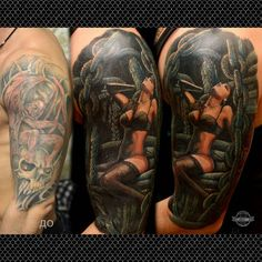 Cover up #татуировка #татусуворов #tattoo #wowtattoo #colortattoo #coverup…