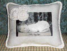 Larissa Hill Designs: Baby Olivia Pillow