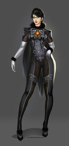 """ BAYONETTA 2 Character Design by Doodah on deviantART """