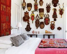 Francesco Clemente I love African and Indonesian Masks, mainly due to my fathers collection. I...