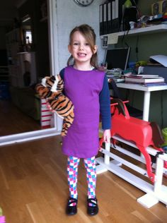 Sophie from 'The Tiger Who Came to Tea' for World Book Day | Mrs Peacock's things to make and do