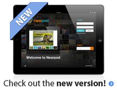 Nearpod-A terrific free iPad app that teachers use to create interactive presentations then share on student's iPad devices.  Students then use their Nearpod app to submit responses which teachers can then assess on their own Nearpod app
