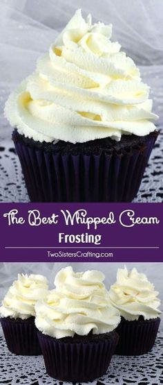 THE BEST WHIPPED CREAM FROSTING | Food And Cake Recipes