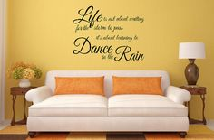 Wall Art Decals Wall Lettering Vinyl Lettering Decals by SignChik