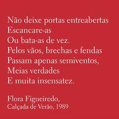 Conversas & Controversas: FLORA FIGUEIREDO