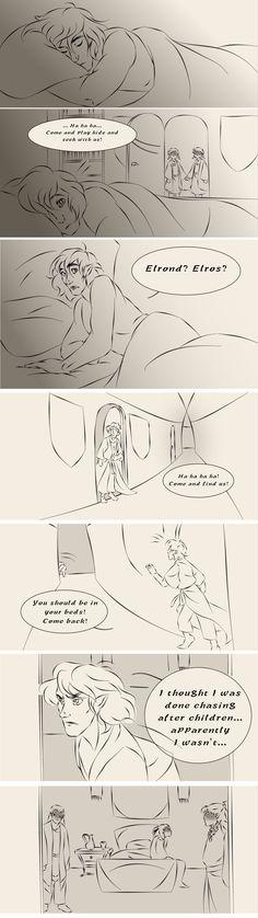 """""""Простите меня"""". Часть 1. Маэдрос, призраки феаноригнов, Элуреда и Элурина"""
