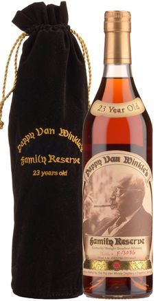 Pappy Van Winkle Family Reserve 23 Years Old Kentucky Straight Bourbon Whiskey - - Bourbon Whiskey, Whisky, Van Winkle Bourbon, Year Old, Kentucky, Gentleman, Champagne, Bottle, One Year Old
