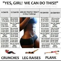 Abs So Tightly Right 24 Day Challenge