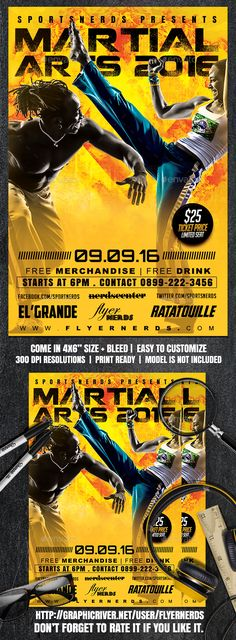 Free Sport Party Psd Flyer Template By Styleflyers.Com. This Free