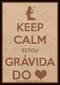 Keep calm estou grávida do coração <3  #adoção www.gravidezinvisivel.com