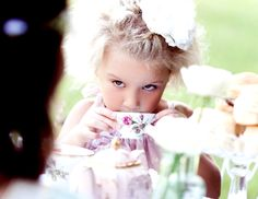 Haute Design by Sarah Klassen: Inspiration: Ladurée at Easter Girls Tea Party, Tea Party Birthday, Girl Photo Shoots, Afternoon Tea Parties, Fancy Party, Childrens Party, Sugar And Spice, Drinking Tea, Cute Kids