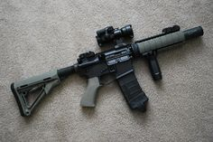 Noveske Diplomat 7.5 with Magpul CTR Stock, Quad Rail, PMAG, MOE grip