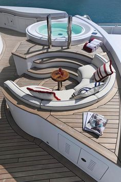 Most Expensive Yachts Interior | The $5 Million Per Month 'TV' Megayacht For Charter