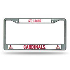 St. Louis Cardinals MLB Chrome License Plate Frame