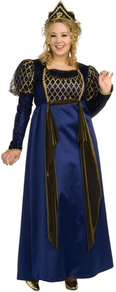 Image detail for -halloween costumes adult costumes fairy tale renaissance queen plus ...