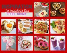 Valentine's Day Food-  Valentine's Day breakfast ideas, Valentine's day lunch ideas, Valentines's day dinner ideas, Valentine's Day Dessert inspiration