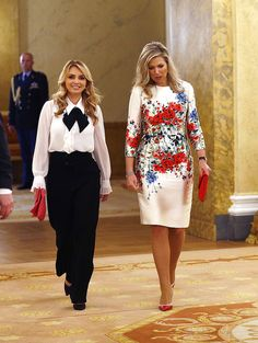 Royal Dresses, Mob Dresses, Ivanka Trump Outfits, Dress Outfits, Fashion Dresses, Look Office, Queen Maxima, Royal Fashion, Preppy Style