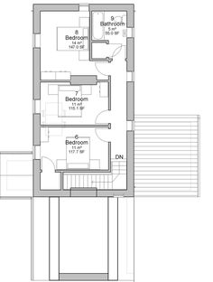 Caragh traditional Irish cottage house plans ground floor plan ...
